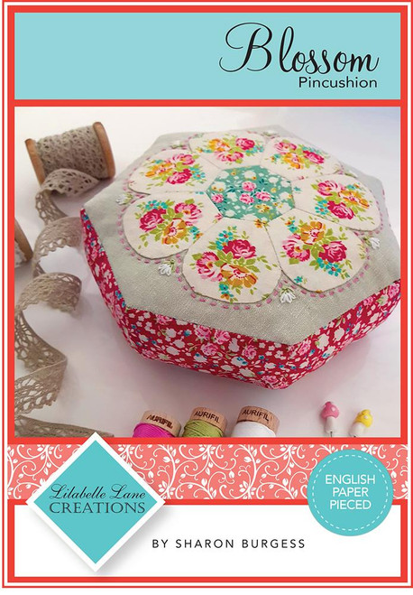Blossom Pincushion Pattern by Lilabelle Lane Creations - Creative Card