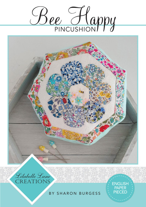 Bee Happy Pincushion Pattern by Lilabelle Lane Creations - Creative Card