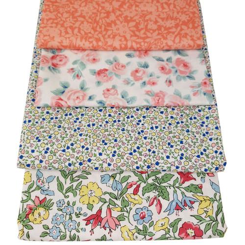 Liberty  Cotton 4 x Fat Quarter Bundle  Pack #8