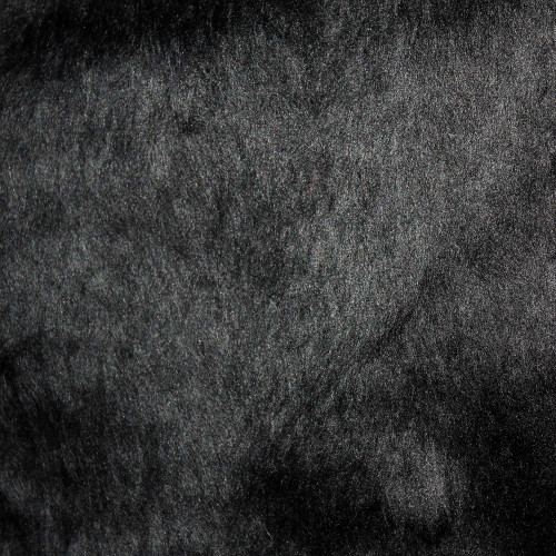 Faux Fur Black Fabric 100% Acrylic Sold by 50cm Lengths