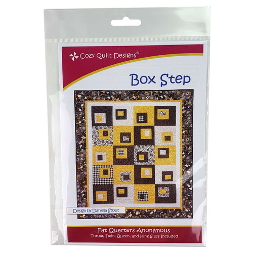 Box Step Quilt Pattern By Cozy Quilt Designs