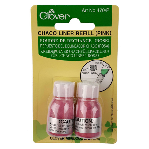 Chaco Liner Refill PINK Clover 2 x Bottle Refills