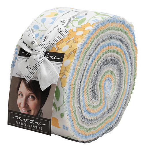 Moda Spring Brook Jelly Roll By Cory Yoder