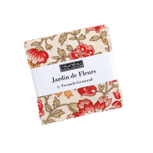Moda Jardin De Fleurs Mini Charm Packs