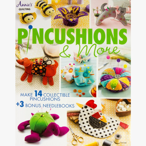 Pincushions & More Book By Annie's Quilting