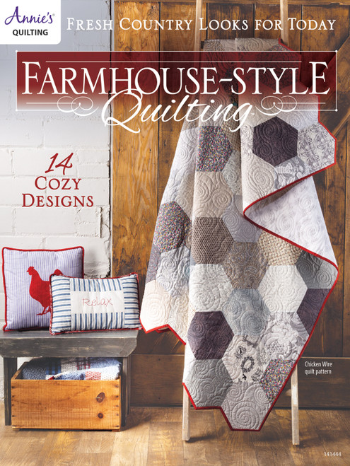 Farmhouse Style Quilting Book By Annie's Quilting