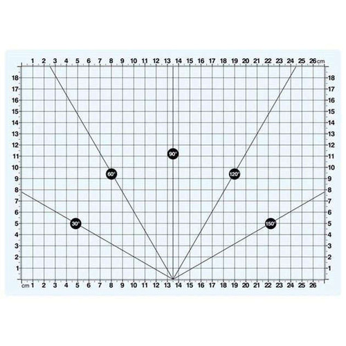 Sew Easy Transparent Cutting Mat A4 3mm Thick 300 x 220mm