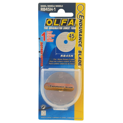 Olfa 45mm Endurance Replacement Blades for Rotary Cutter