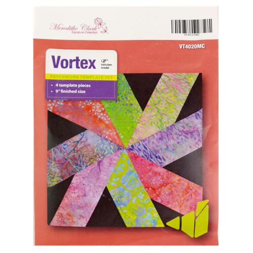 Matildas Own Vortex Patchwork Template Set Meredithe Clark Design