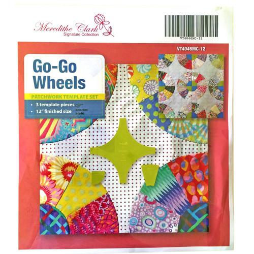 Matildas Own Go-Go Wheels Patchwork Templates Set Choice of 8 or 12 Inch