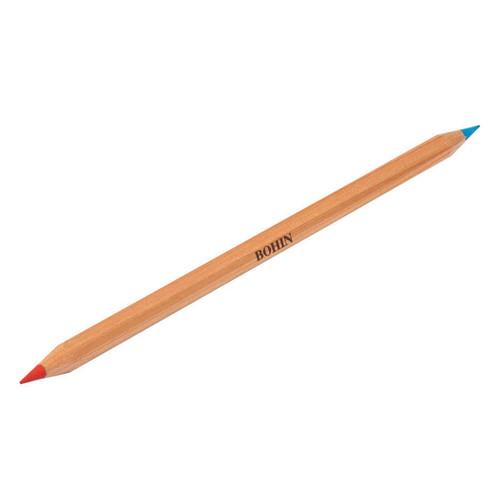 Bohin Chalk Pencil - Red- Blue