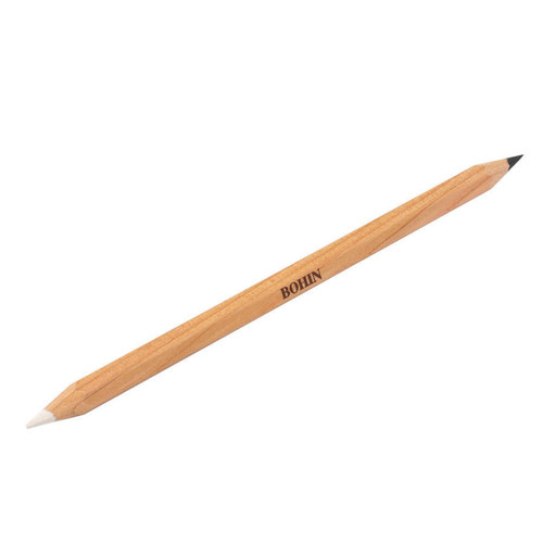 Bohin Chalk Pencil - White- Black