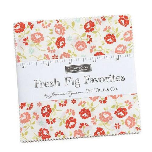 Moda Fresh Fig Favorites Charm Pack By Fig Tree & Co