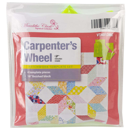 Matildas Own Carpenters Wheel Patchwork Templates Choice of 12 or 18 Inch