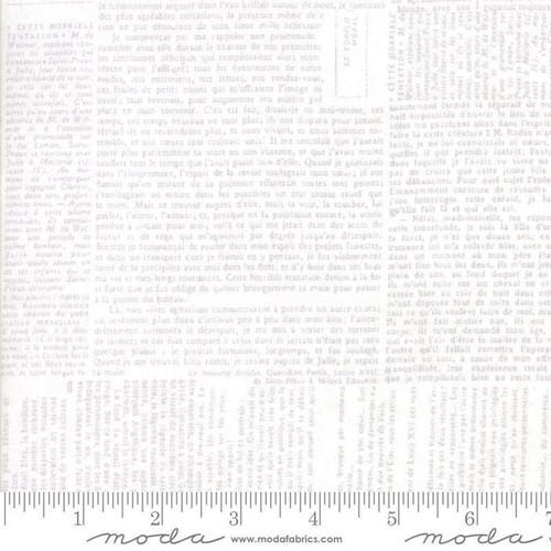 Moda Compositions Basic Newsprint White