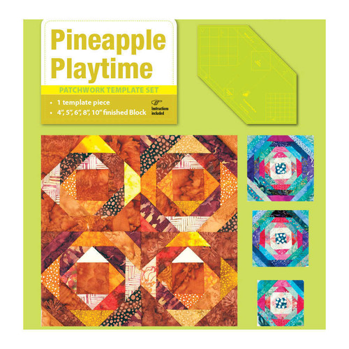 Matidas Own Pineapple Playtime Patchwork Template