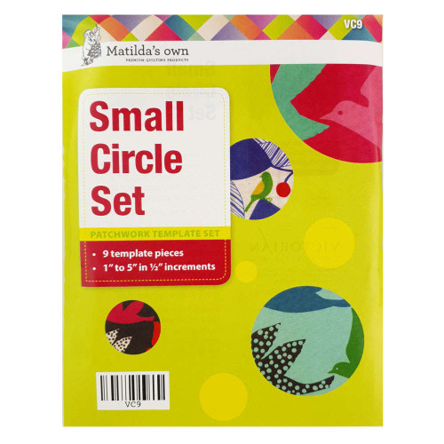 Matidas Own Small Circle Set Patchwork Template