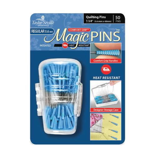 Taylor Seville Magic Pins Quilting Pins  0.05mm x 48mm 50pcs