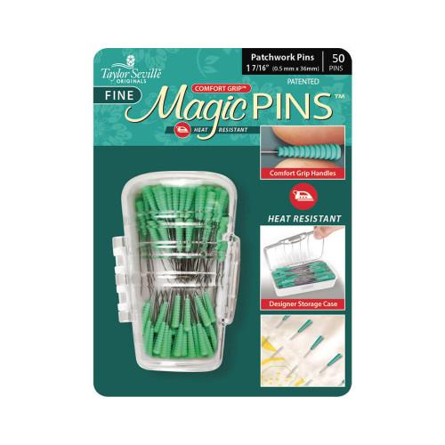 Taylor Seville Magic Pins Patchwork Extra fine  0.04mm x 36mm 50pcs