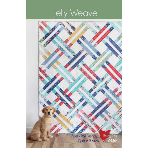 Jelly Weave Quilt Pattern by Cluck Cluck Sew