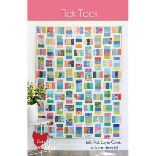 Tick Tock Quilt Pattern by Cluck Cluck Sew