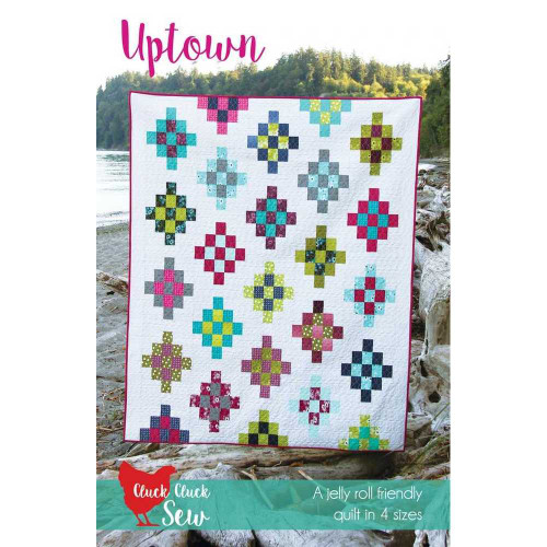 Uptown Quilt Pattern by Cluck Cluck Sew