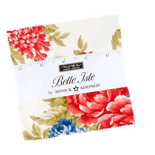 Moda Belle Isle Charm Squares By Minick & Simpson