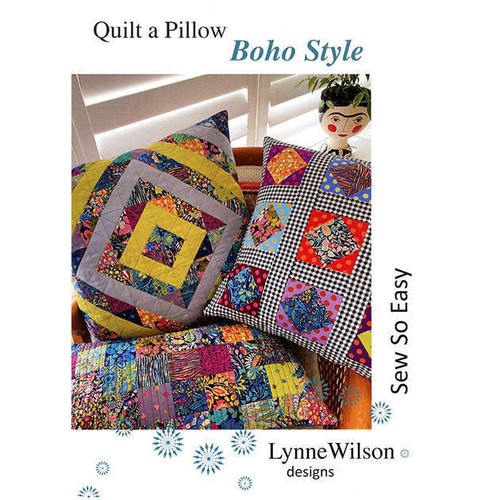 Boho Style Quilt A Pillow By Lynne Wilson Design