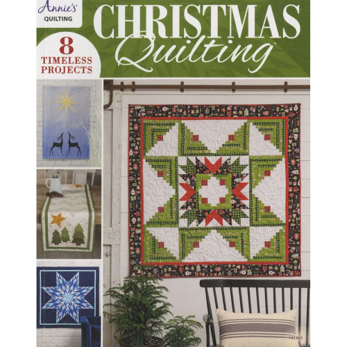 Christmas Quilting Book By Annie's Quilting