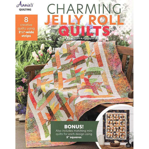 Charming Jelly Rolls Quilts Book By Annie's Quilting