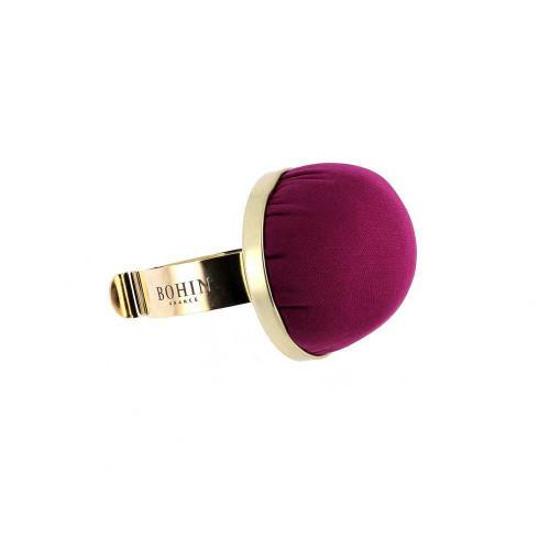 Bohin Wrist Pincushion With Bracelet - Purple