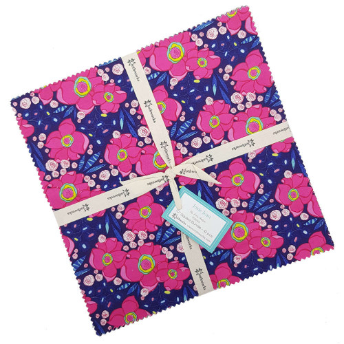 """Clothworks Josie Jean 10"""" Squares Fabric by Amy Reber"""