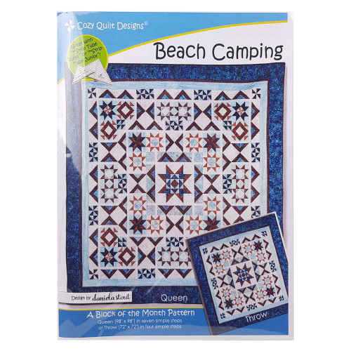 Beach Camping Quilt Pattern By Cozy Quilt Design