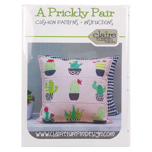 A Prickly Pair Cushion Pattern By Claire Turpin Design