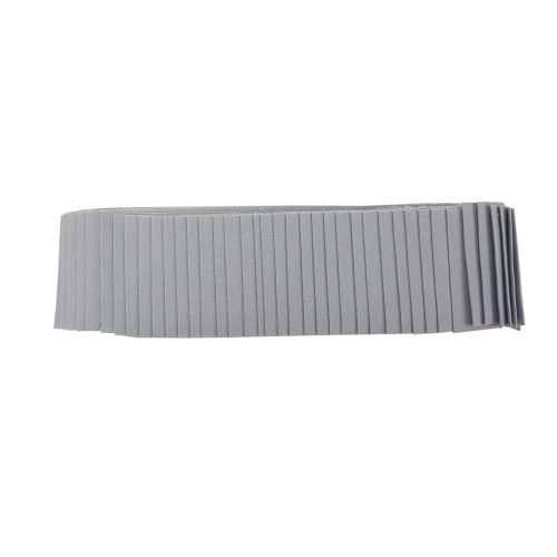 Jelly Roll Rainbows Solid Old Grey Mare 40 x 2.5 Inch Strips Fabric