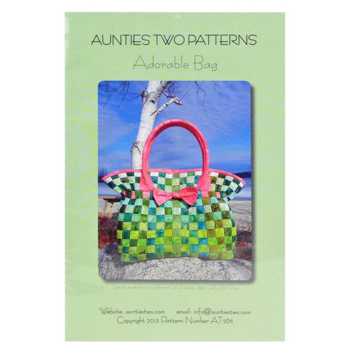 Adorable Bag Pattern From Aunties Two Patterns