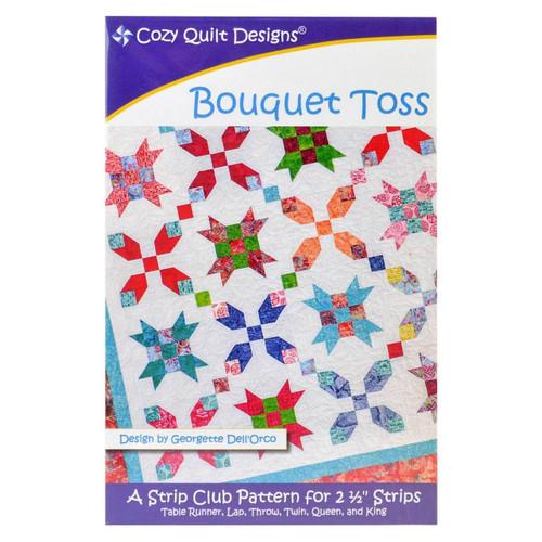Bouquet Toss Quilt Pattern from Cozy Quilt Designs