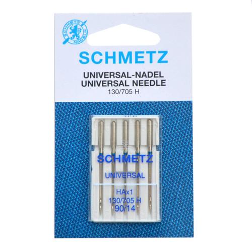 Schmetz Universal Sewing Machine Needles Size 90/14 Pack of 5
