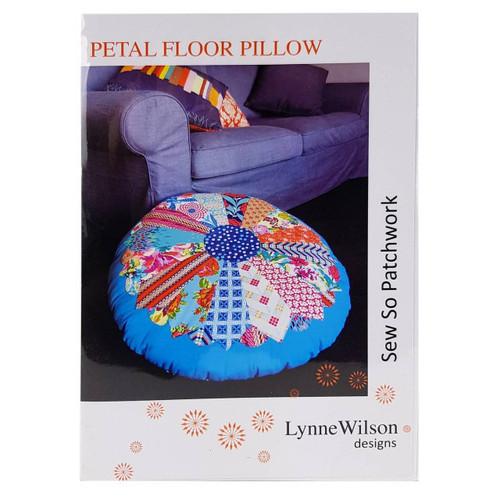 Petal Floor Pillow Pattern by Lynne Wilson Designs