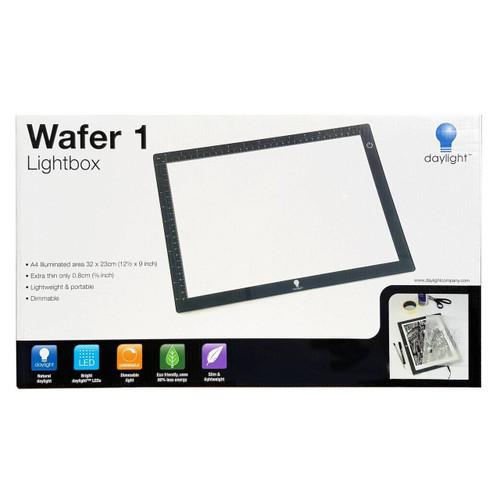 Wafer 1 Lightbox A4 Illuminated Dimmable Lightweight 32x23x0.8cm