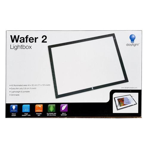 Wafer 2 Lightbox A3 Illuminated Dimmable Lightweight 44x32x0.8cm