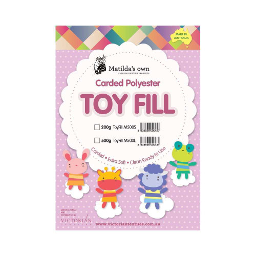 Batting Toy Fill 100% Polyester 200g By Matildas Own