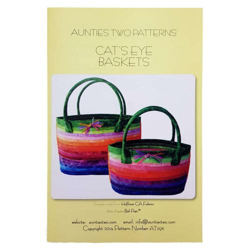 Cat's Eye Baskets - Aunties Two Pattern