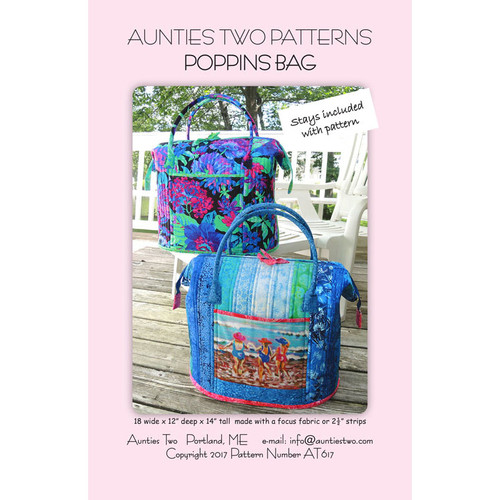 Aunties Two Poppins Bag 2 x Stays Included