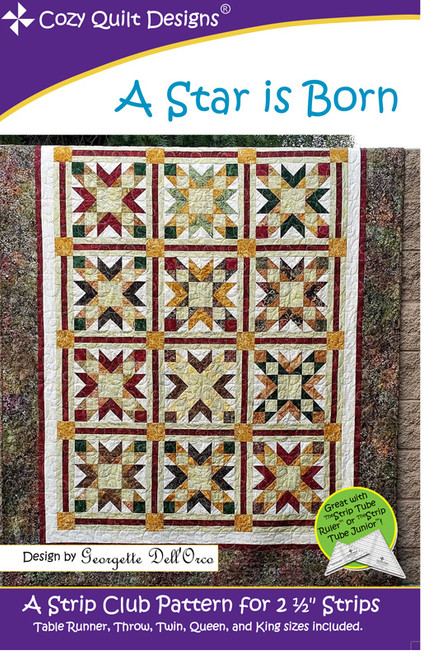 A Star Is Born Quilt Pattern By Cozy Quilt Designs