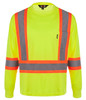 NRG Work Site Men's High Vis Long Sleeve - YELLOW