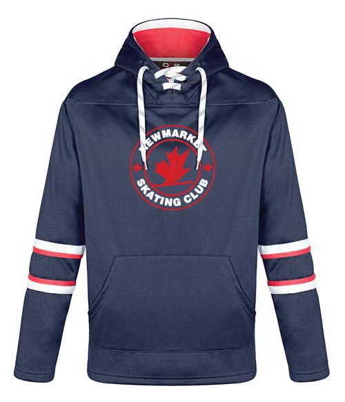 Newmarket Skating Club Adult Fleece Hockey Hoodie
