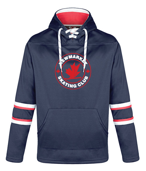 Newmarket Skating Club Adult Fleece Hockey Hoodie
