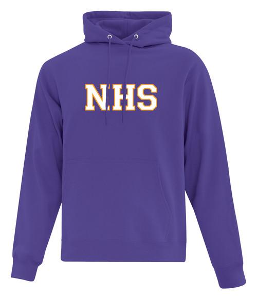 Newmarket High School Purple Hoody