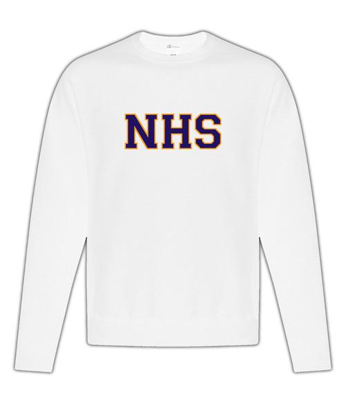 Newmarket High School White Crewneck Sweatshirt